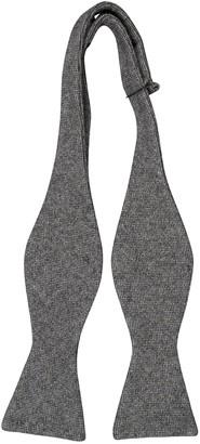 Notch Men's Wool Self-tie Bow Tie - Semi-solid