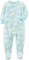 Carter's 1-Pc. Polar Bear-Print Footed Pajamas, Toddler Girls (2T-5T)
