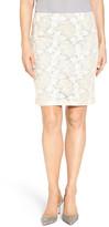 Halogen Lace Pencil Skirt (Petite)