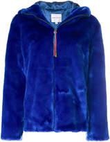 Mira Mikati faux fur hooded jacket