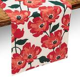 "Kate Spade Painted Poppies Table Runner, 15"" x 72"""