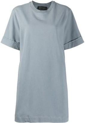 Mr & Mrs Italy Pleated Jersey Mini Dress