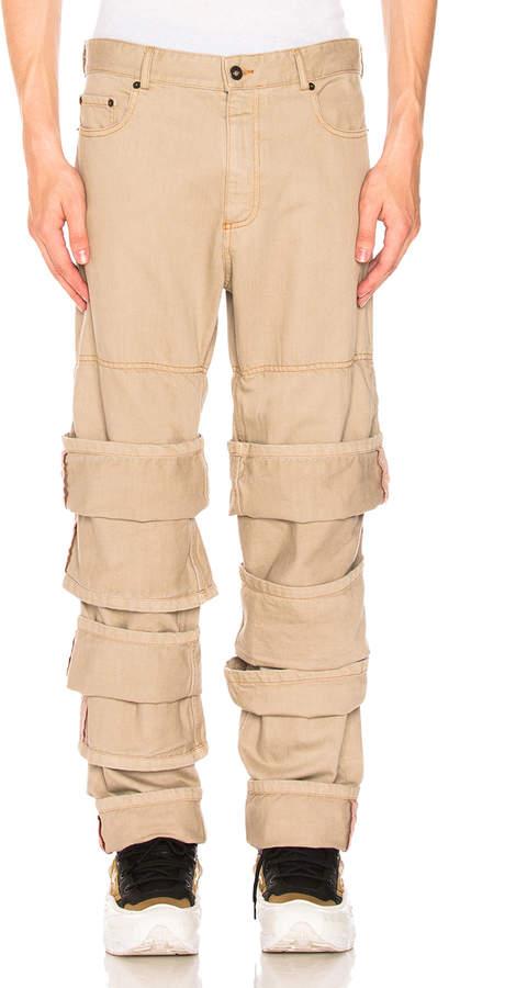 Y/Project Multi Cuff Jeans