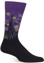 Hot Sox Starry Night Socks