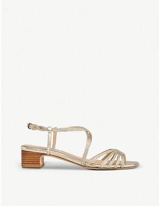 LK Bennett Newport leather heeled sandals