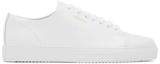 Axel Arigato White Leather Cap-Toe Sneakers