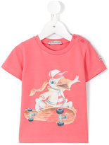 Moncler skating duck T-shirt - kids - Cotton/Spandex/Elastane - 9-12 mth