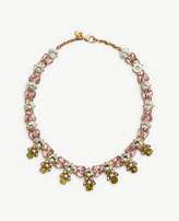 Ann Taylor Crystal Burst Statement Necklace
