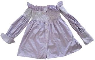 Cavallini Erika Purple Cotton Top for Women