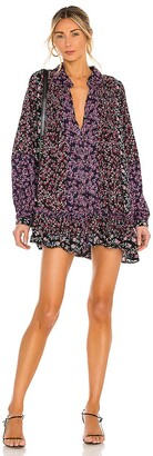 Free People Lost In You Printed Tunic