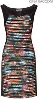 Next Womens Gina Bacconi Black Fearne Abstract Floral Dress