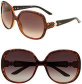 Dior 'Zemire 1' Oversized Square Sunglasses