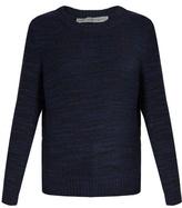 Raquel Allegra Cut-out wool-blend sweater