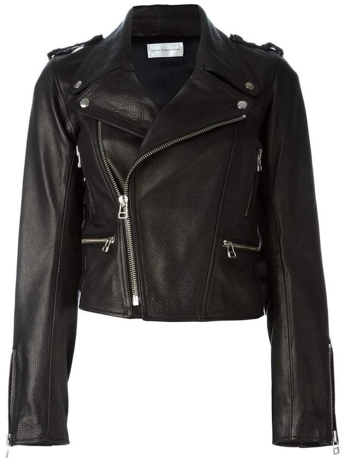 Faith Connexion boxy biker jacket