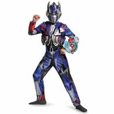 Asstd National Brand Transformers Age Of Extinction Optimus Prime 4-pc. Transformers Dress Up Costume