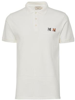 MAISON KITSUNÉ Double Fox polo shirt