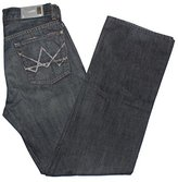 7 For All Mankind Men's Relaxed Fit A Pocket Jeans in Slate Wash (28