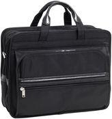 McKlein McKleinUSA Elston 15.6 Nylon Double Compartment Laptop Briefcase