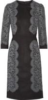 Dolce & Gabbana Appliquéd woven dress