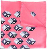Gucci GG Wallpaper print scarf - women - Silk - One Size