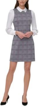 Tommy Hilfiger Plaid A-line Dress