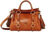 Dooney & Bourke Florentine Micro Satchel (Natural/Self Trim) Handbags