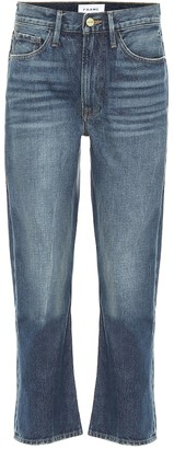 Frame Piper cropped pencil jeans