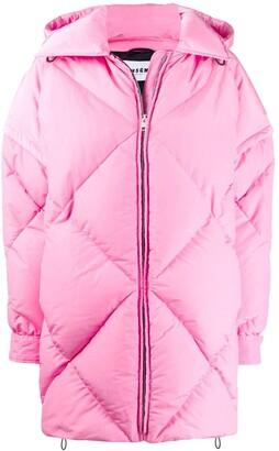 MSGM padded detachable sleeves coat