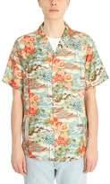 Off-White Multicolor Silk Shirt