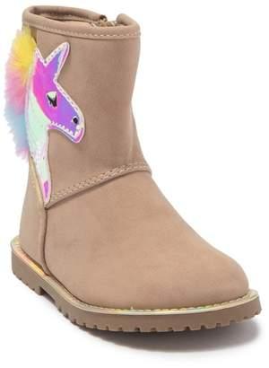Harper Canyon Unicorn Novelty Boot (Toddler)