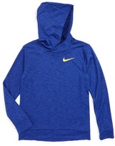 Nike Boy's Dri-Fit Training Hooded T-Shirt