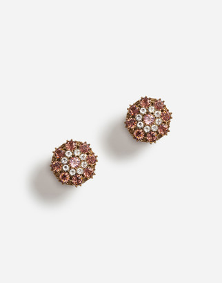 Dolce & Gabbana Clip-On Rhinestone Earrings