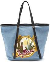 See by Chloe Cactus denim tote bag