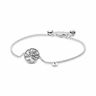 Pandora Women Silver Hand Chain Bracelet 597776CZ-18