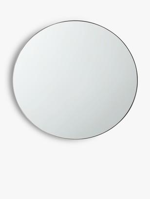 John Lewis & Partners Round Metal Frame Wall Mirror