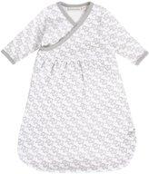 Jo-Jo JoJo Maman Bebe Newborn Sleepsack- Elephant Print - Grey - 0-3 mo