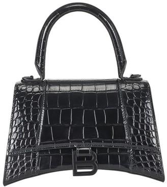 Balenciaga Hourglass S top handle bag
