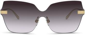 Dolce & Gabbana Eyewear Logo Plaque Sunglasses