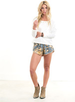 Saltwater Luxe - Summertime Shorts Reverse Floral