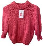 Ganni Fall Winter 2019 Pink Wool Knitwear