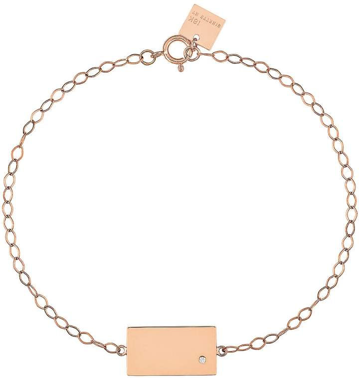 ginette_ny Mini Ever Rectangle Bracelet