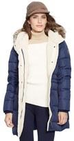Lauren Ralph Lauren Women's Faux Fur Trim Down & Feather Fill Parka