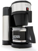 Bunn-O-Matic Velocity Brew 10-Cup Stainless & Black Coffee Maker
