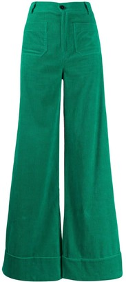 Roberto Collina Corduroy Wide-Leg Trousers