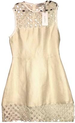 Sandro Beige Lace Dress for Women