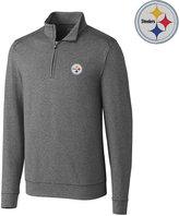 Cutter & Buck Men's Pittsburgh Steelers Shoreline Quarter-Zip Pullover