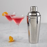 Williams-Sonoma Stainless-Steel Hammered Cocktail Shaker