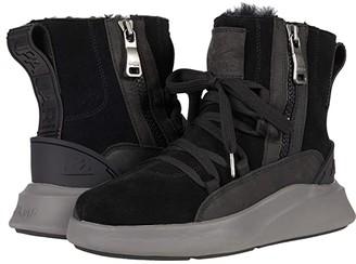 Pajar Exo Shearling Combat (Black/Black) Men's Shoes