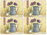 Pimpernel Café De Fleurs Placemats (Set of 4)