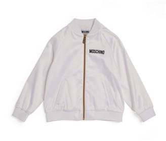 Moschino Kids Teddy Bear Bomber Jacket